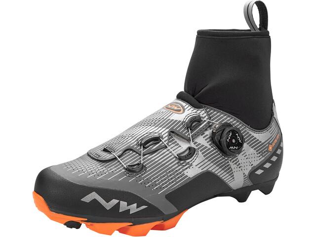 Northwave Raptor GTX schoenen Heren, reflective/orange lobster